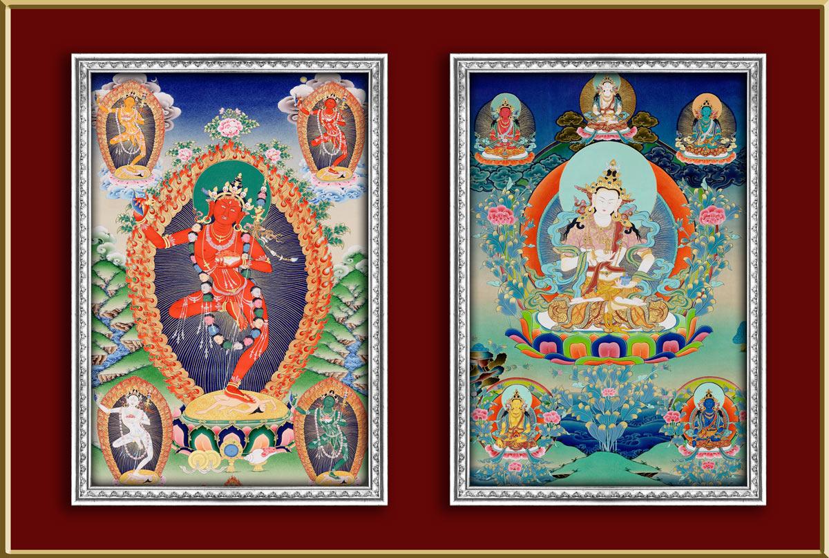 Thangka aus Nepal
